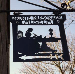 Bronte Parsonage Sign