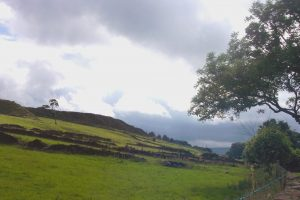The moors behind the Bronte Parsonage